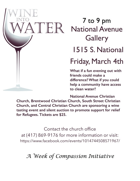 Wine into Water 2016