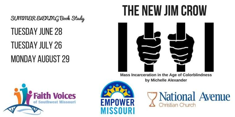 New Jim Crow book study image