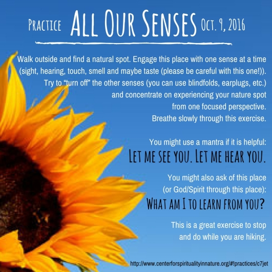 practice-all-our-senses-10-9-16