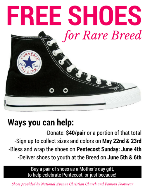 Shoes for the Breed flyer 2017