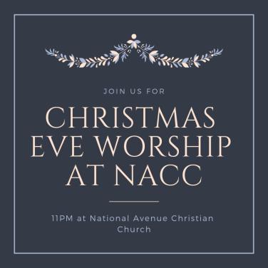 Christmas Eve at NACC