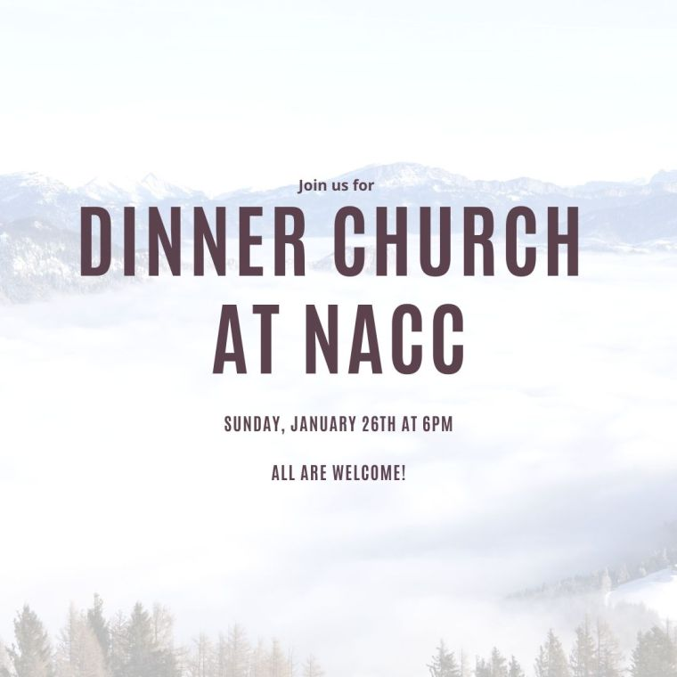 Dinner church at NACC