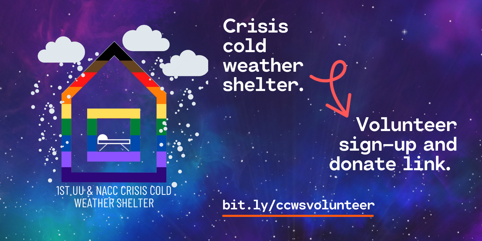 Copy of Crisis cold weather shelter.